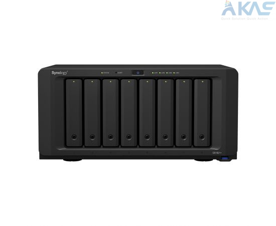 Synology DS1821 Plus | 4 GB DDR4 | 64-bit | 4 core 2.2 GHz | 8HDD * 14TB