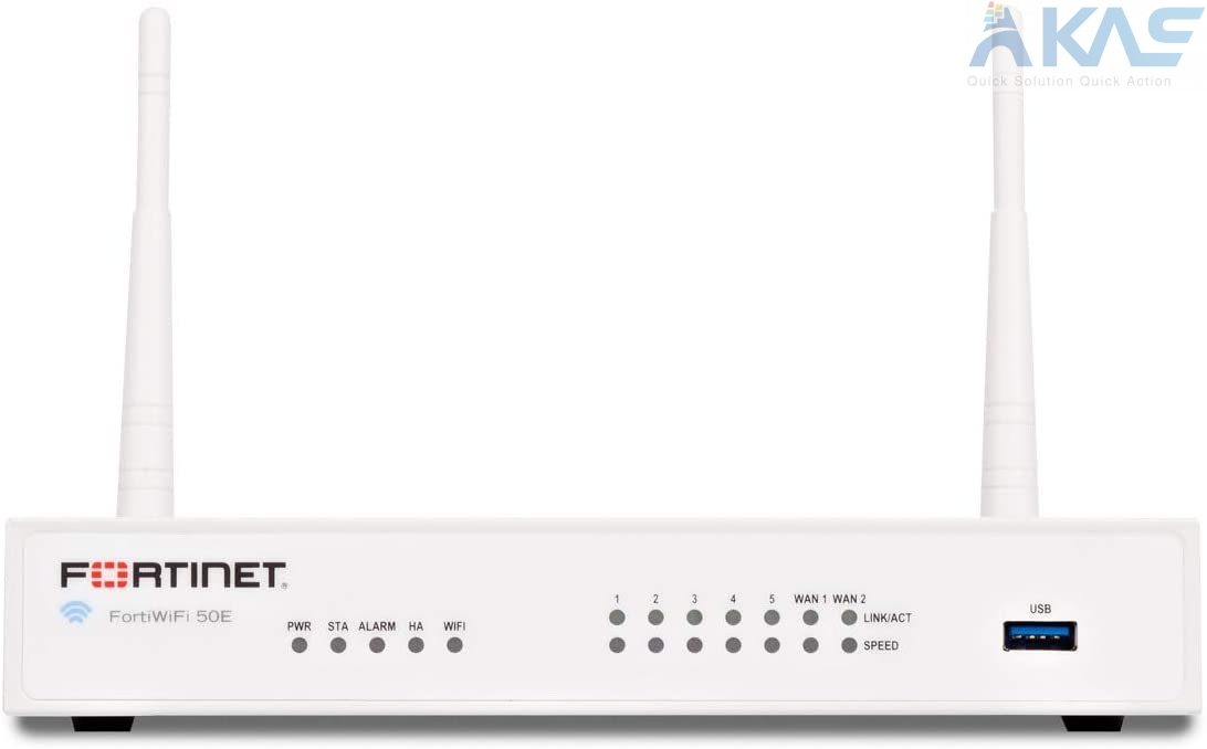 Fortinet | FWF-50E | FortiWiFi-50E Network VPN Security Firewall Series