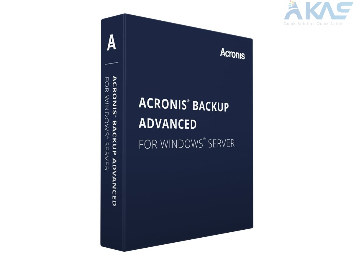 Acronis for Windows Server Essentials