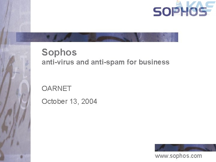 Sophos Anti-Virus Business