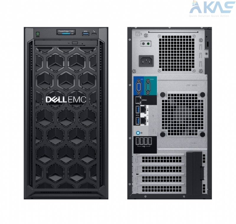 DELL EMC POWEREDGE T140 – 3.5INCH | CPU 3.4GHz