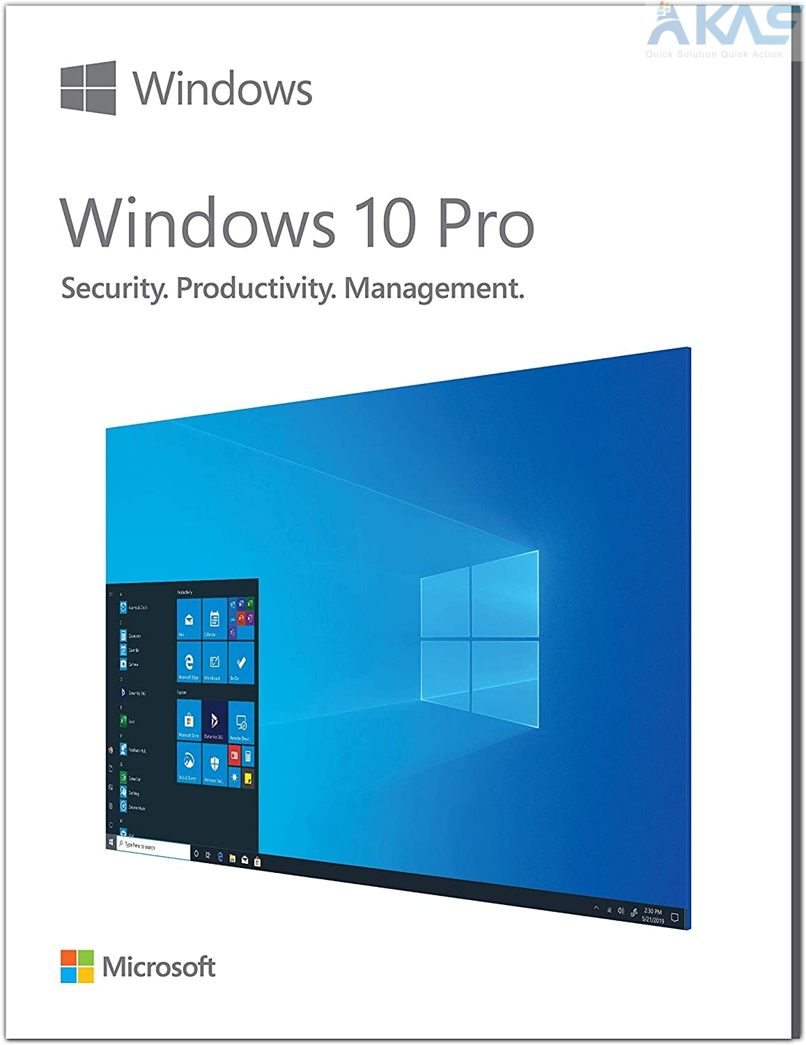 Windows 10 Pro | 32/64-Bit